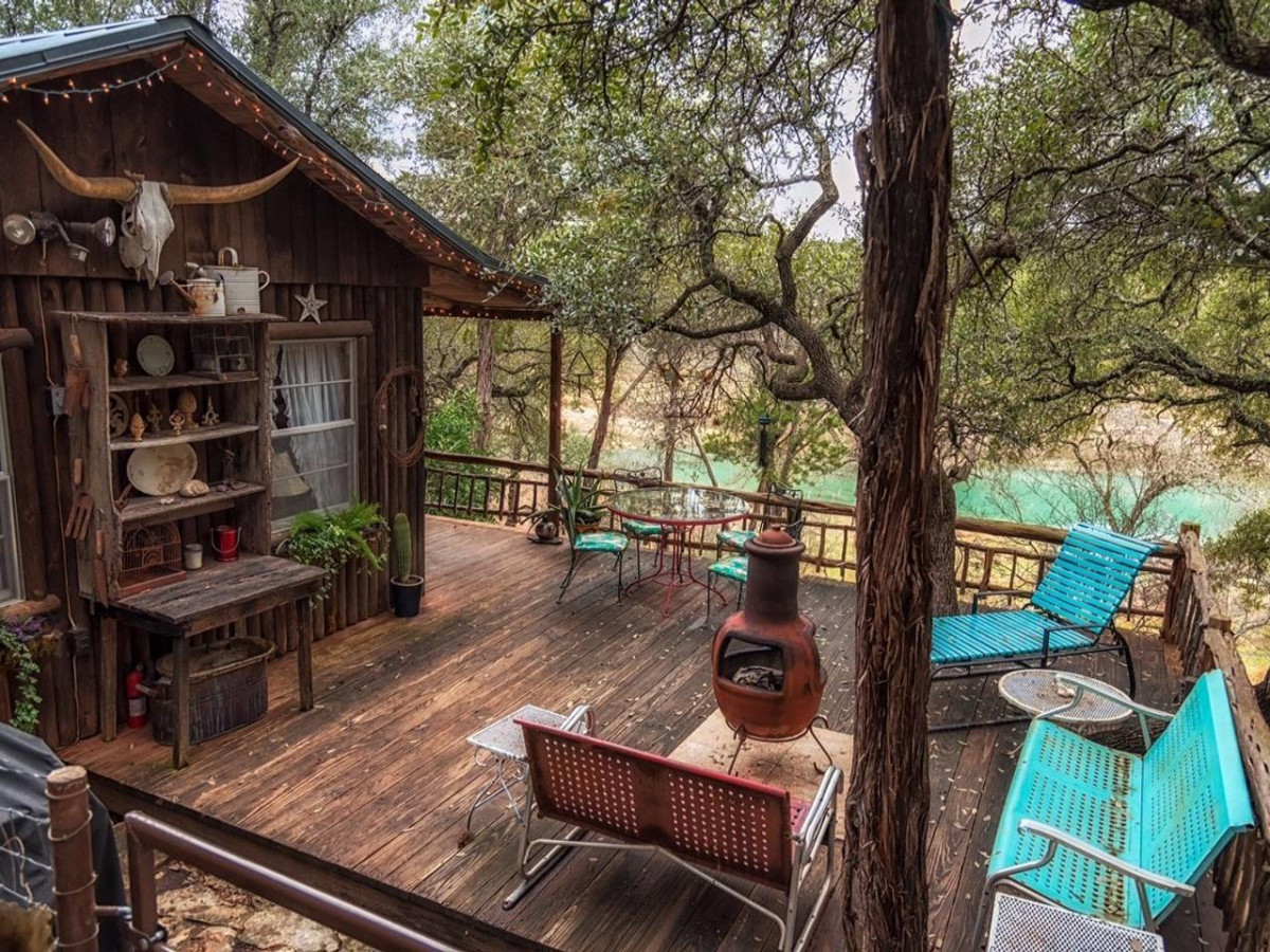 Wimberley Wish-listed Airbnb
