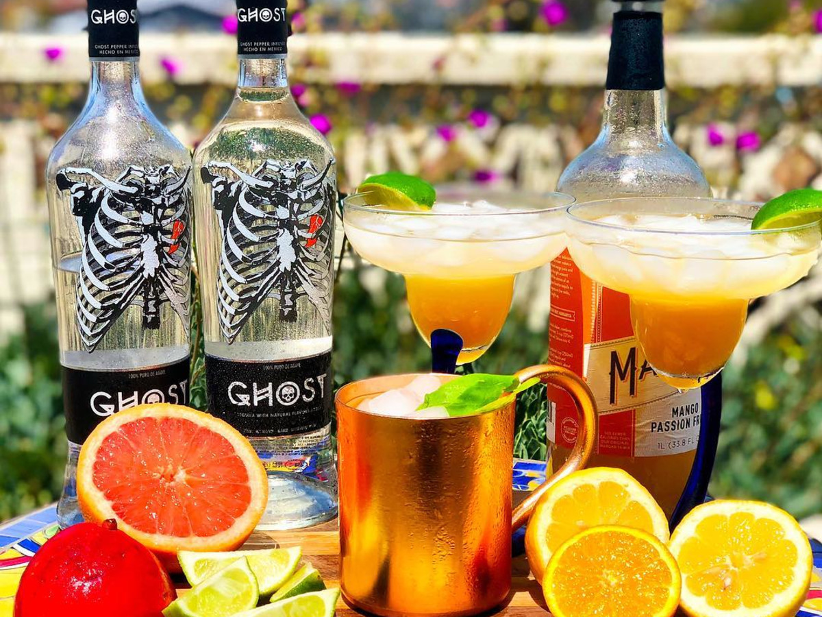 Ghost Tequila cocktails