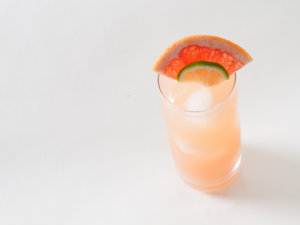 Ghost Paloma cocktail