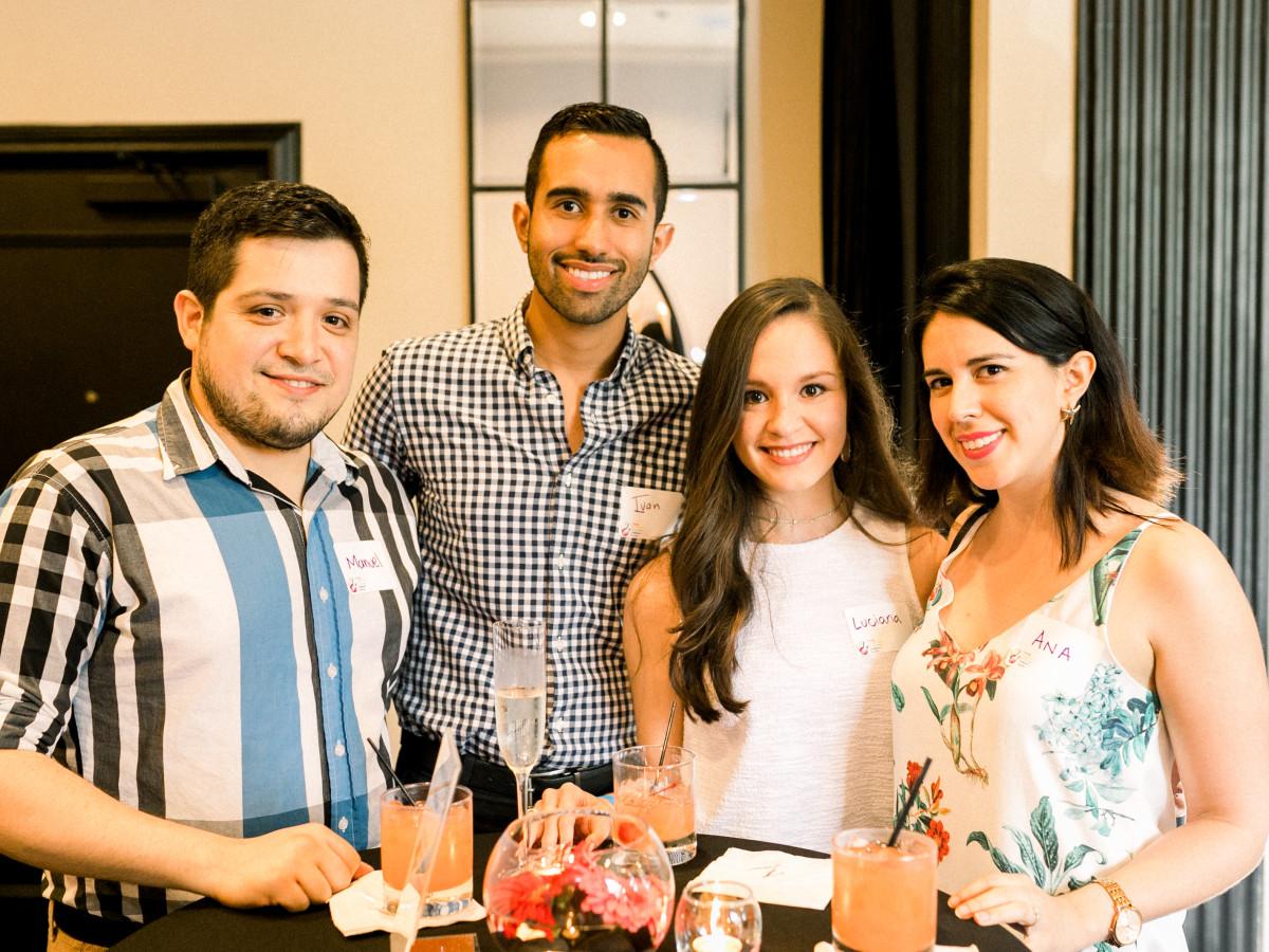Luciana Narvaez, Manuel Gardea, Ivan Marin, and Ana Enriquez