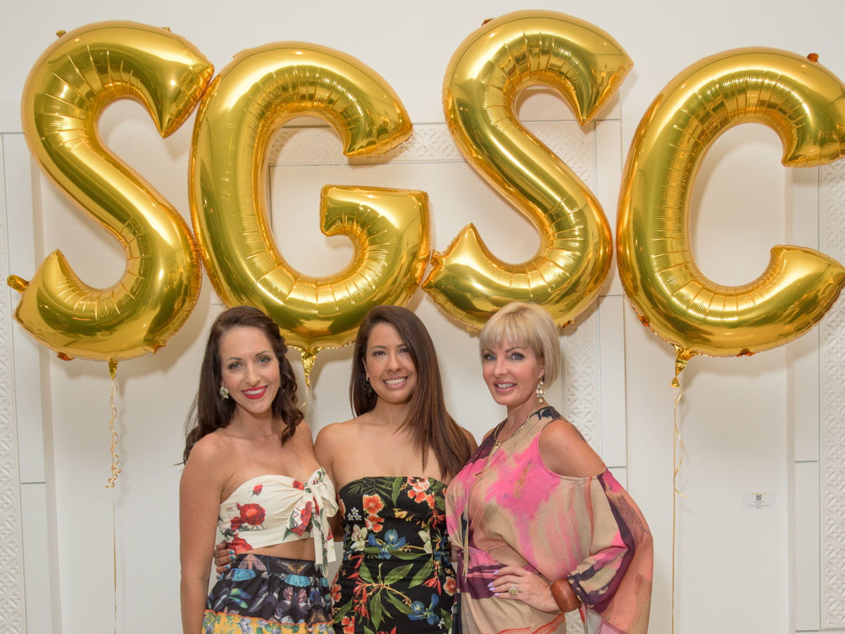 Original SGSC founders Shannah Quinn, Anika Jackson Redick, and Staci Henderson