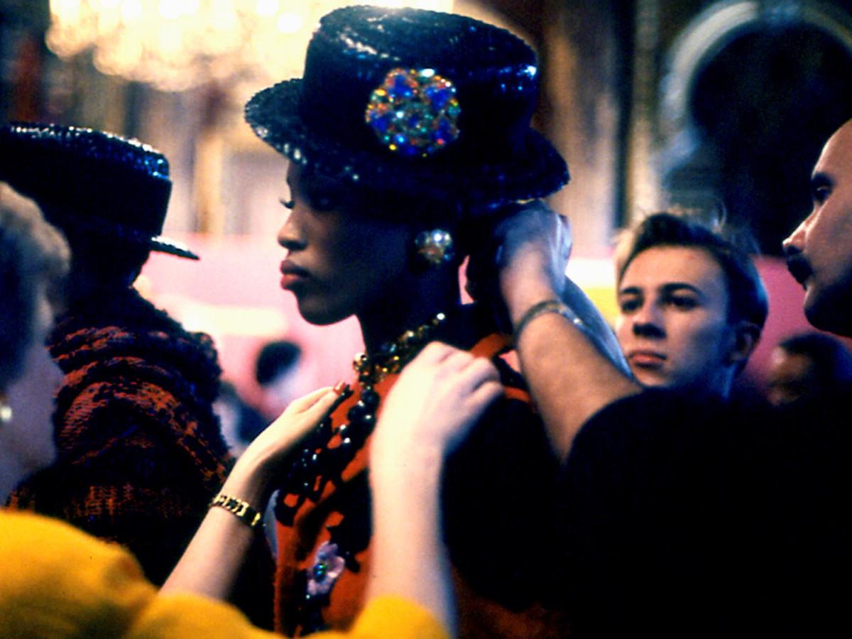 Naomi Campbell, Lacroix, Paris, 1991 © Donna DeMari