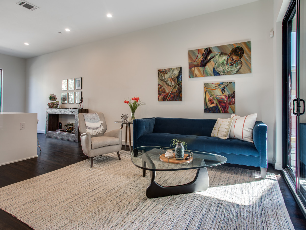 The Collection on Moser townhomes