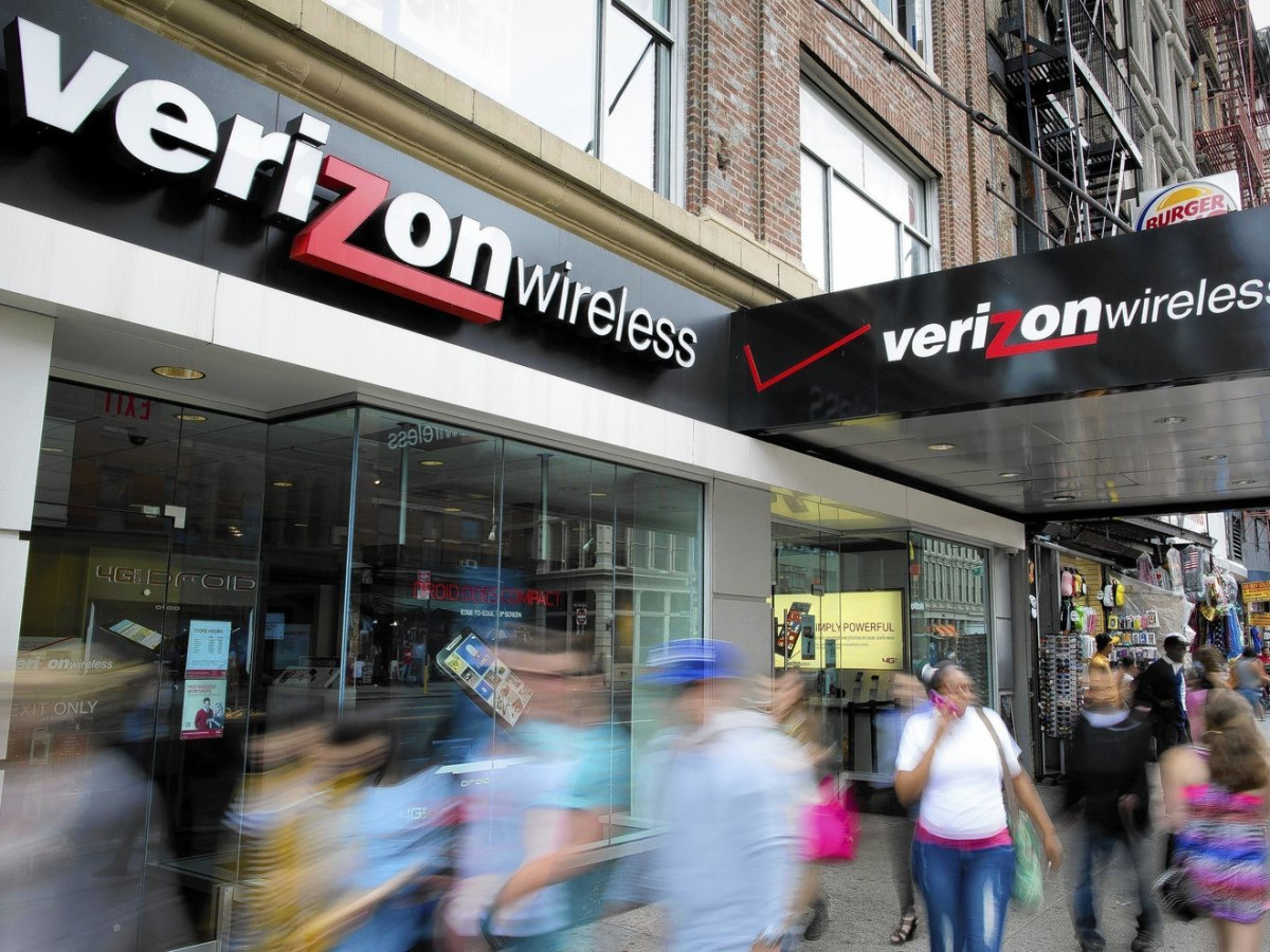 Verizon Wireless storefront