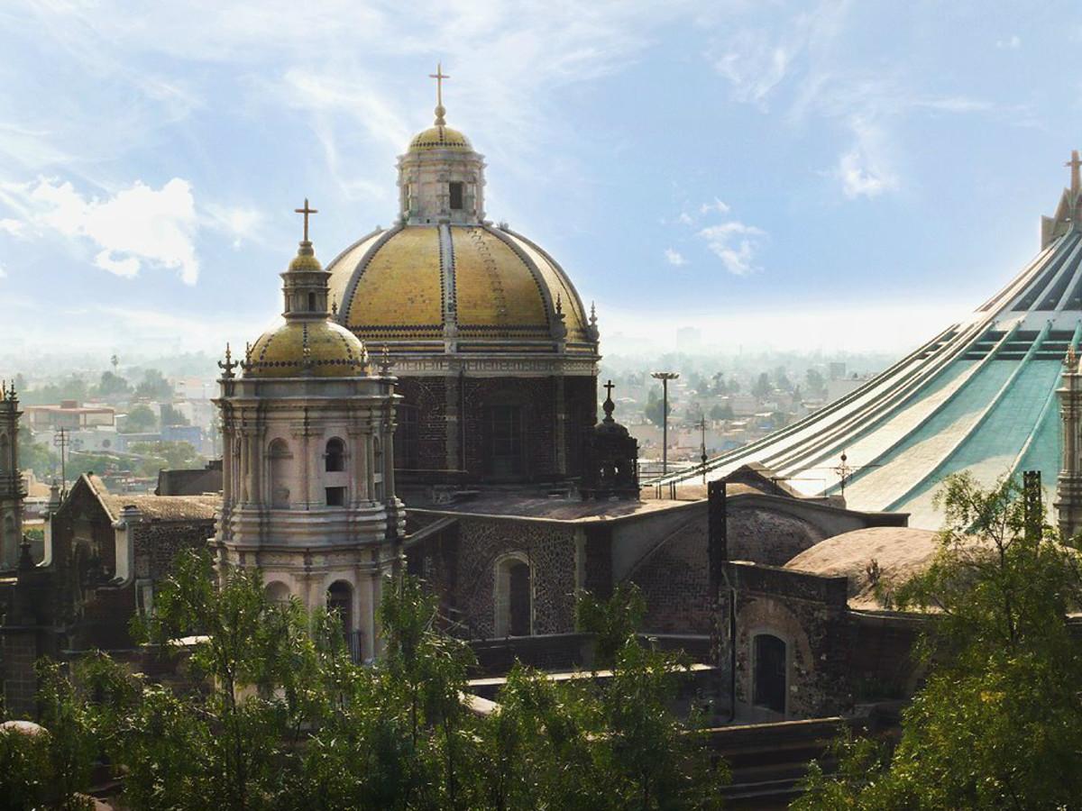 Mexico City Basilica de Guadalupe