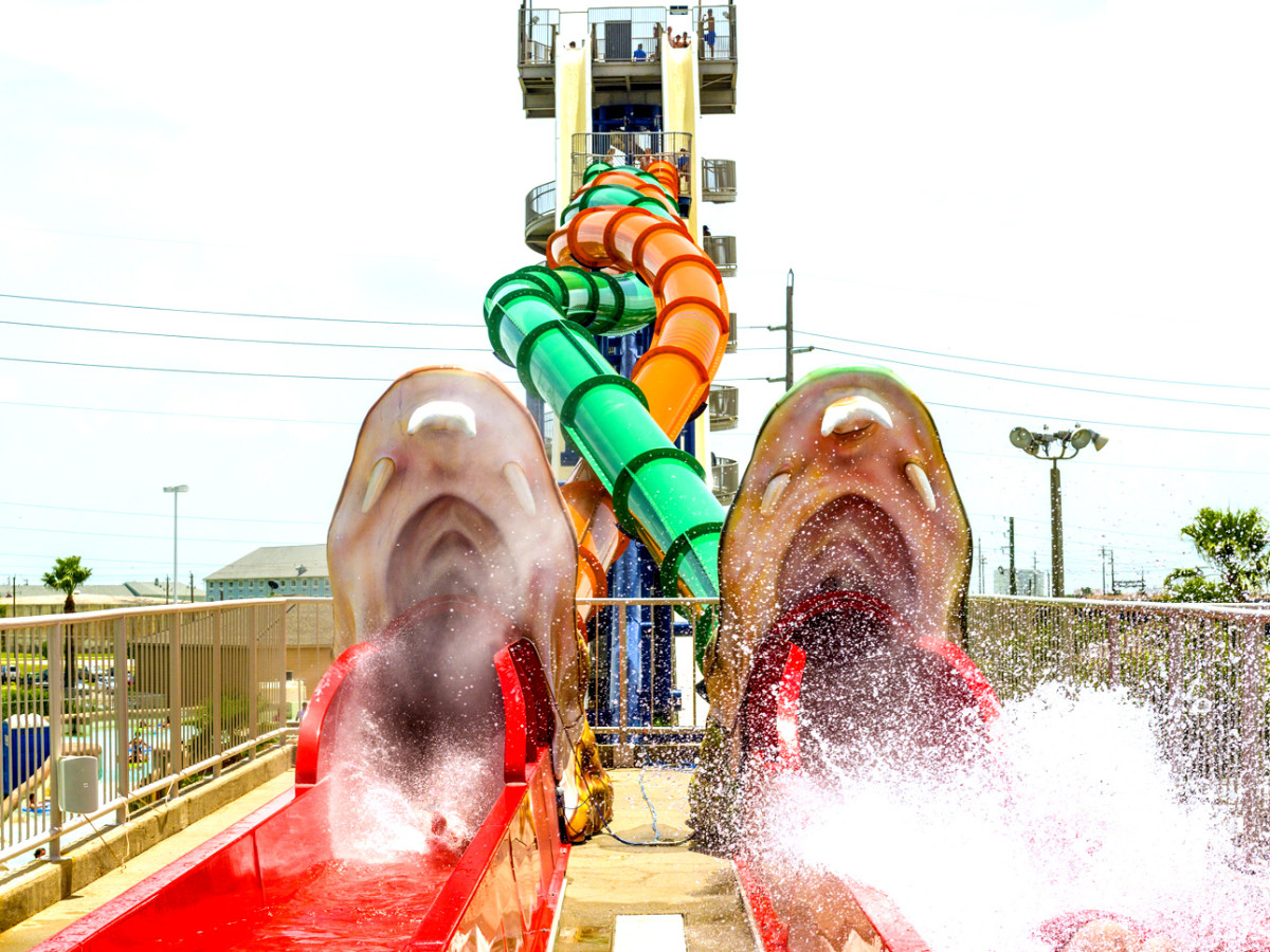 Screaming Serpents Schlitterbahn Galveston rendering