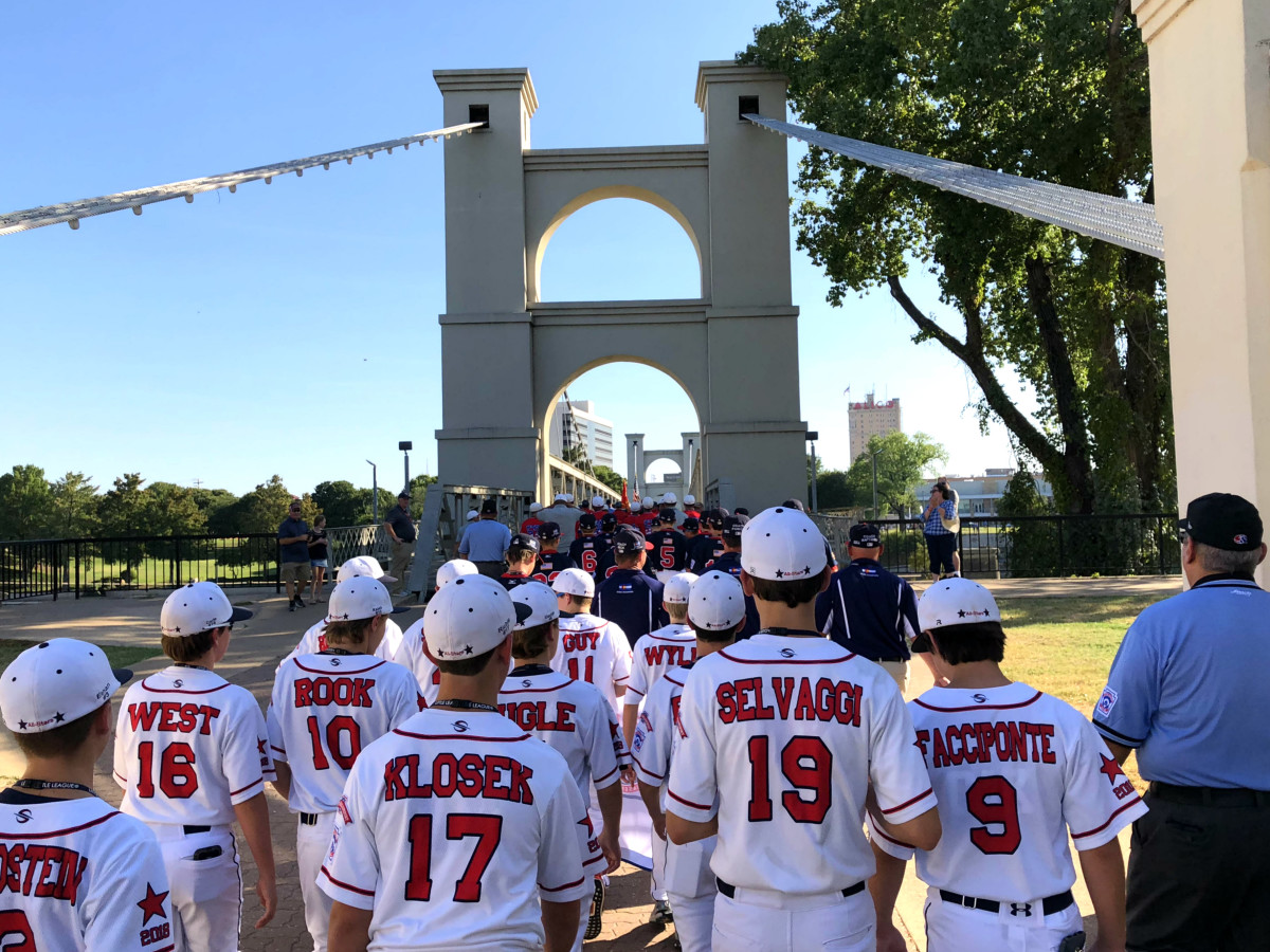 Post Oak Little League team backs walking