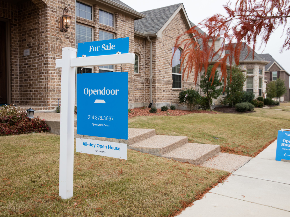 Opendoor home for sale sign
