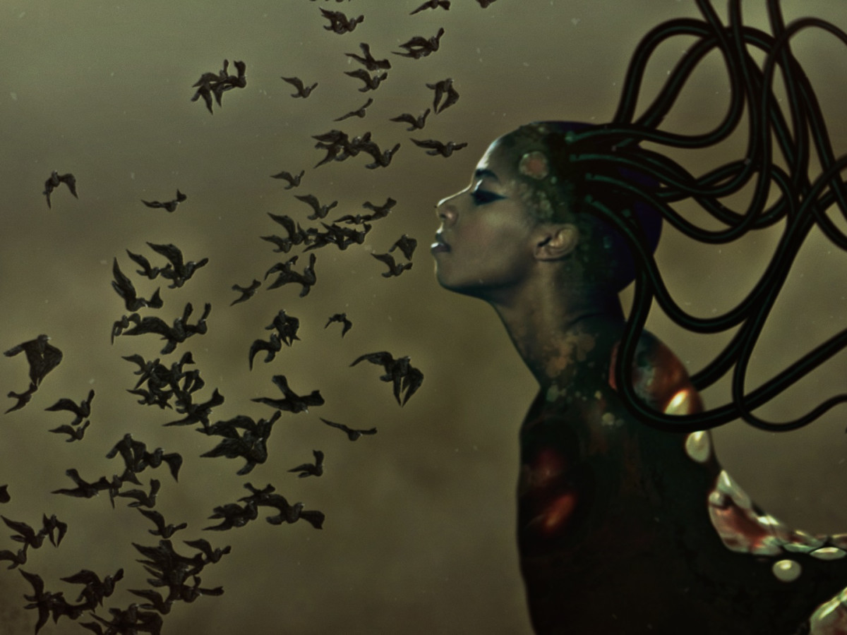 "Wangechi Mutu: ""The End of eating Everything"" opening reception"