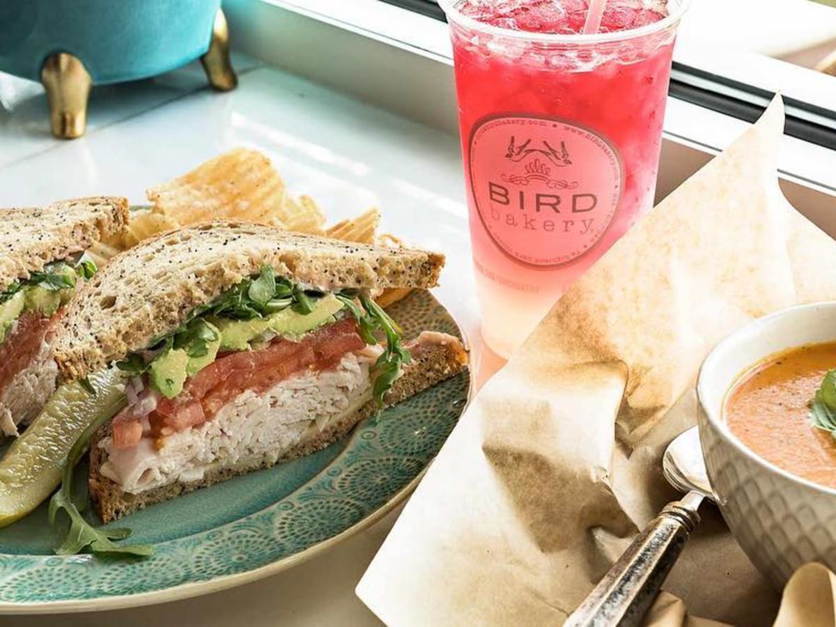Bird Bakery San Antonio sandwich