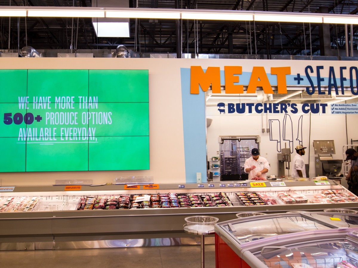 Whole Foods 365 Heights meat and seafood