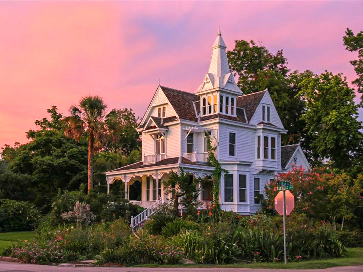 Bart Truxillo Heights Victorian mansion 1802 Harvard