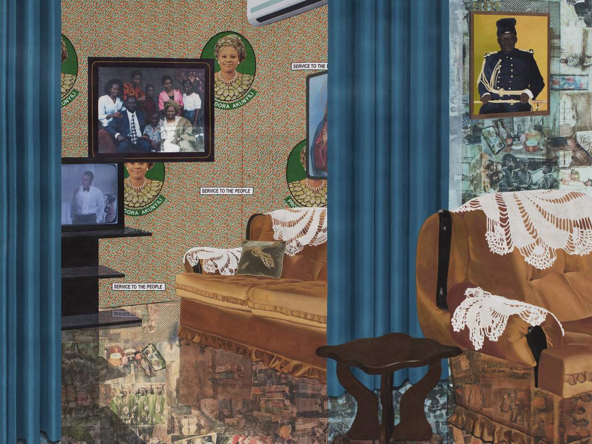 Modern Art Museum presents Njideka Akunyili Crosby: Counterparts