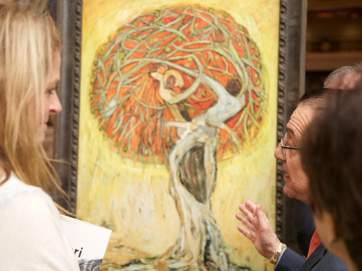 Paige Fertitta and Dr. Nansen G. Saleri