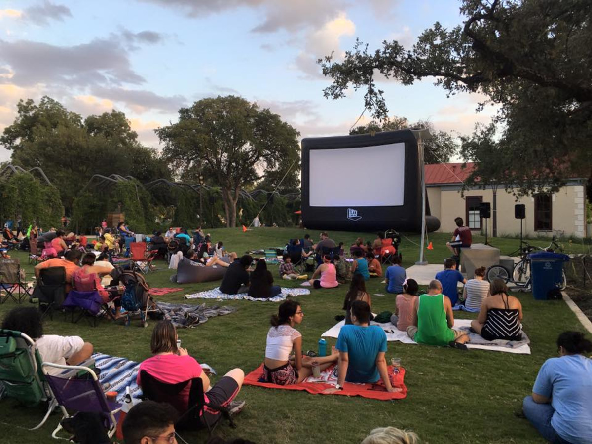 Hemisfair movie screening San Antonio