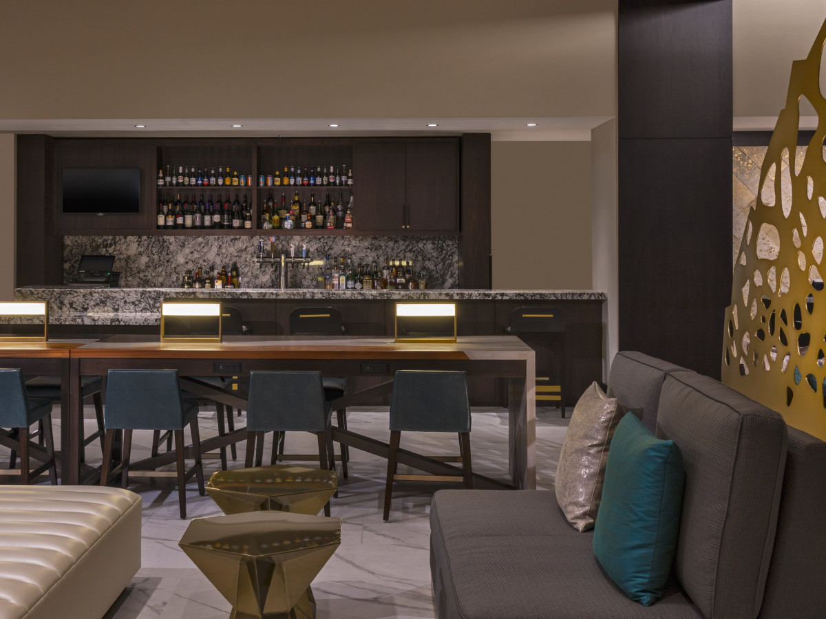 The Westin Galleria Houston lobby bar
