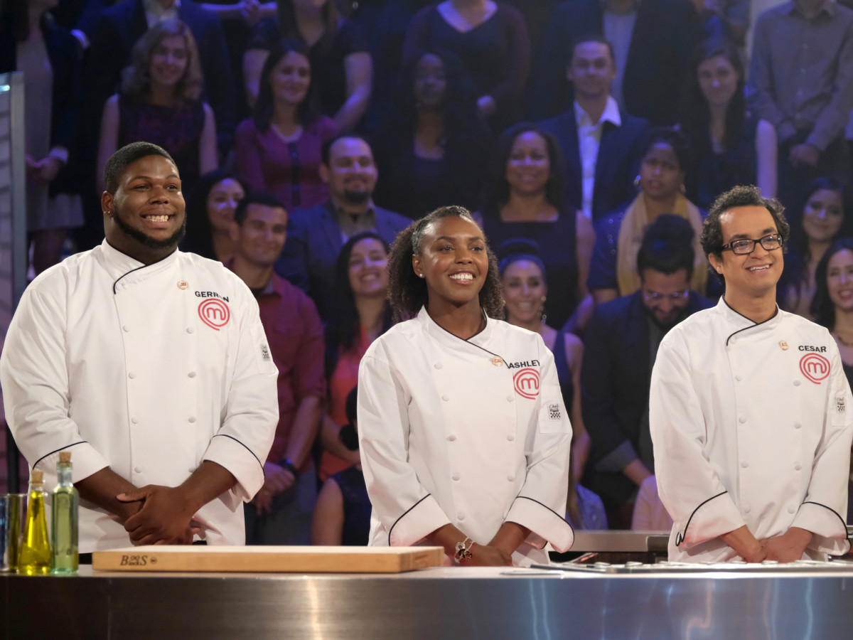Masterchef finale Gerron Hurt Ashley Mincey Cesar Cano