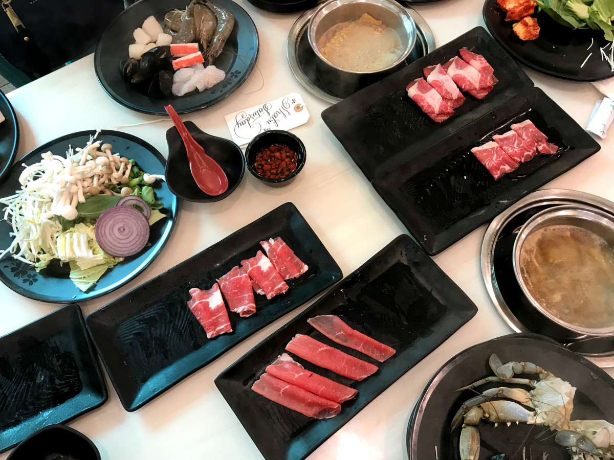 Shabu Zone spread