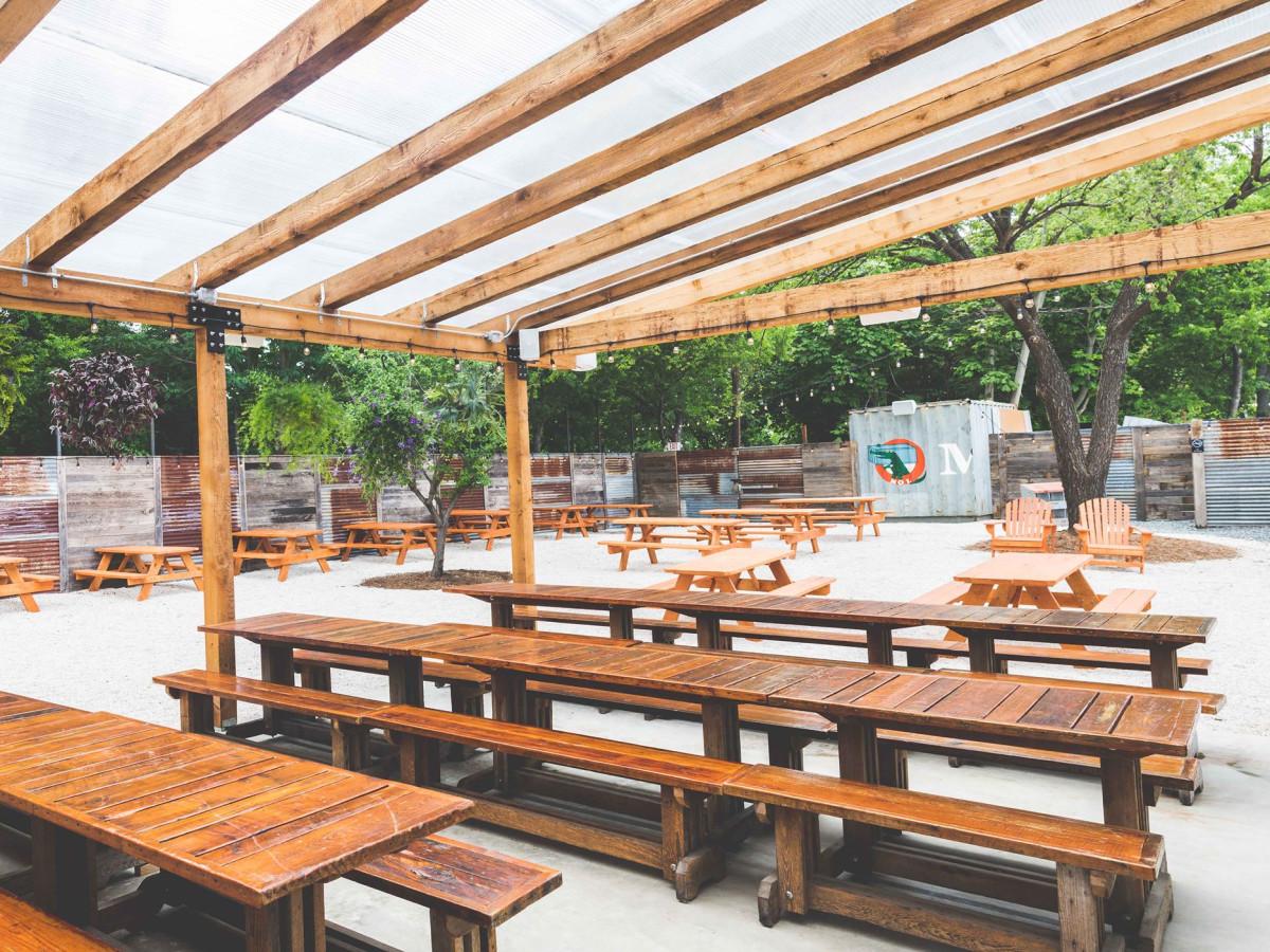 Sour Duck Market patio