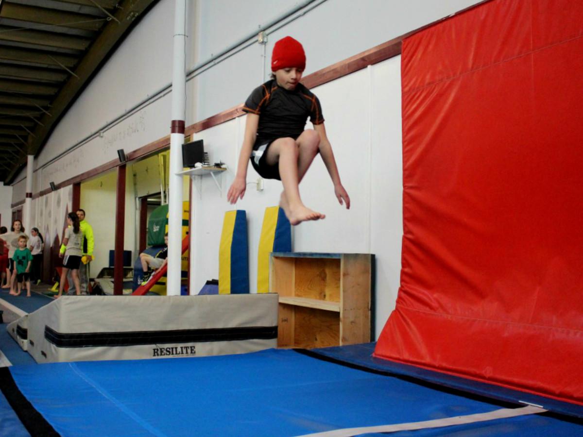 USA Ninja Challenge Katy jump