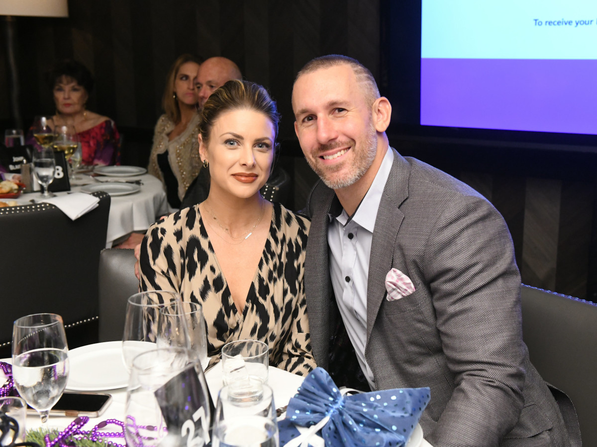 Houston Texans March of Dimes Angela and Owen Daniels