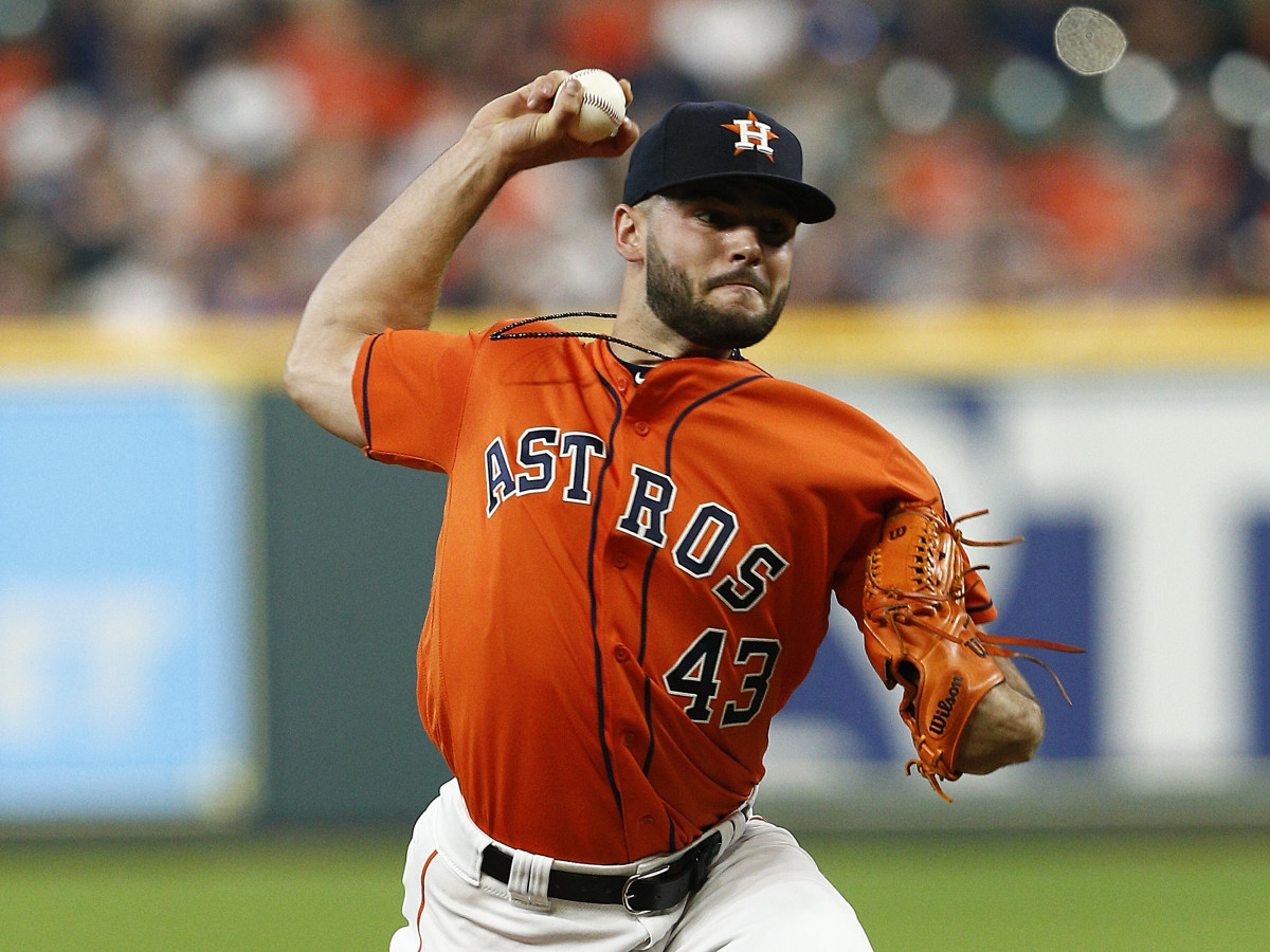 Lance McCullers, Jr throwing