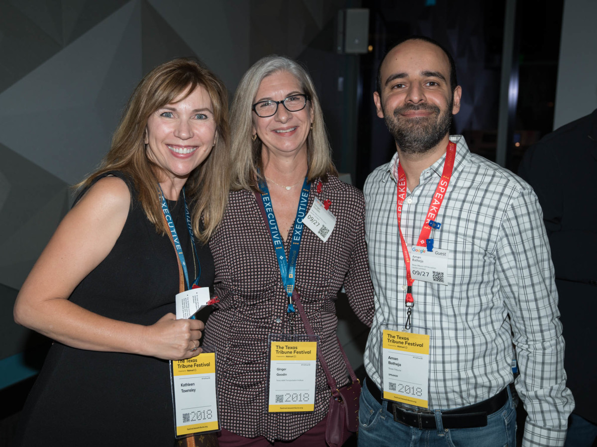 Texas Tribune Festival 2018 VIP Party at Google Kathleen Townsey Ginger Goodin Aman Batheja