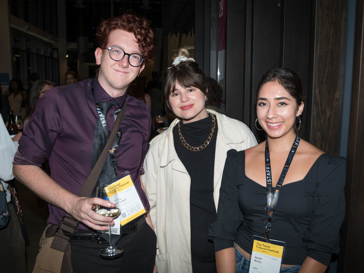 Texas Tribune Festival 2018 VIP Party at Google Bobby Blanchard Jane Claire Hervey Xyclali Nunez