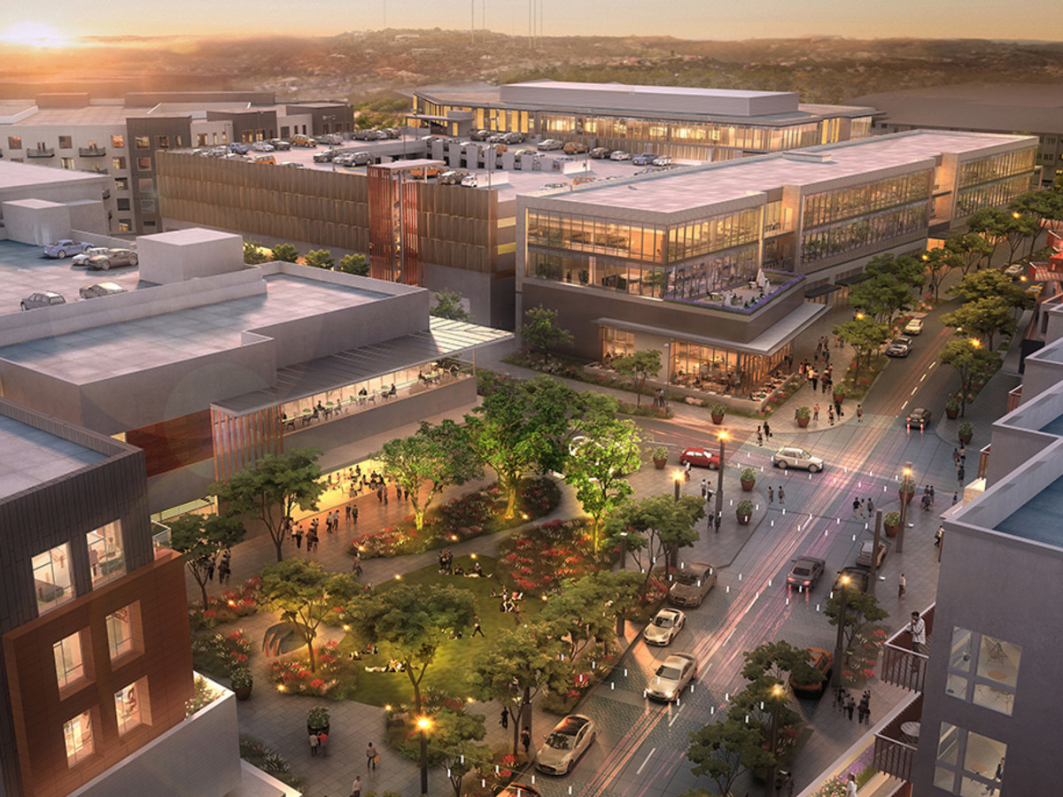 The Grove mixed-use