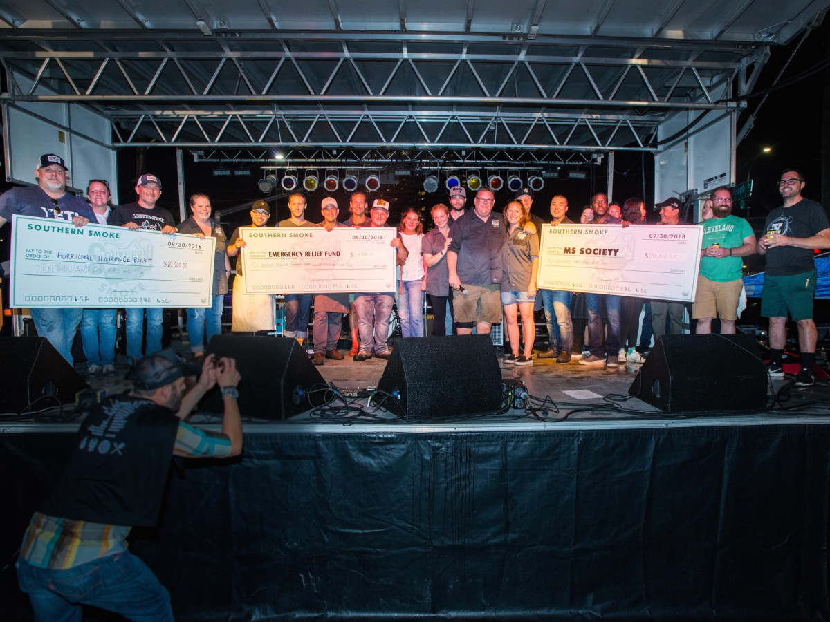 Southern Smoke 2018 check presentation