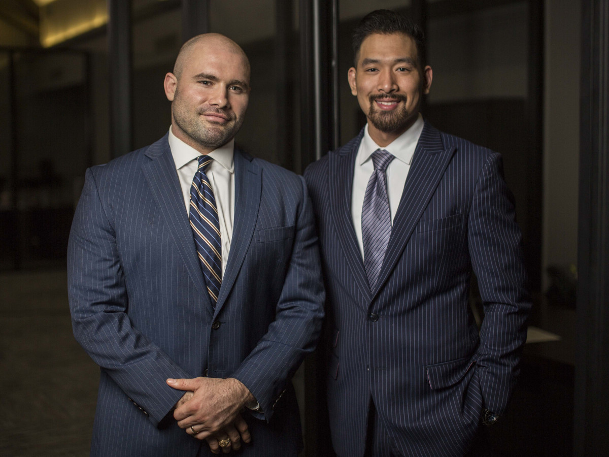 Attorneys Anthony Pusch and Chi Nguyen