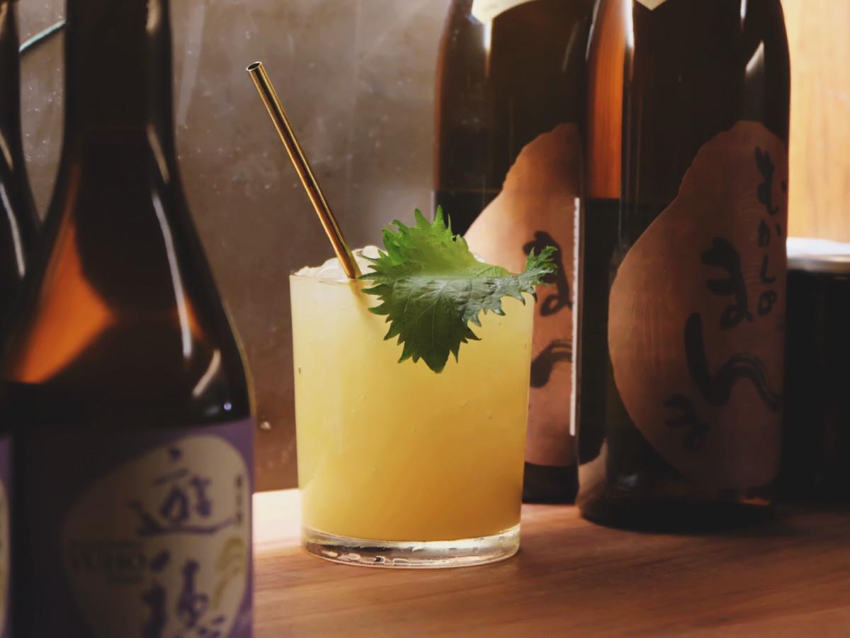 Miso Paradisu cocktail at Watertrade