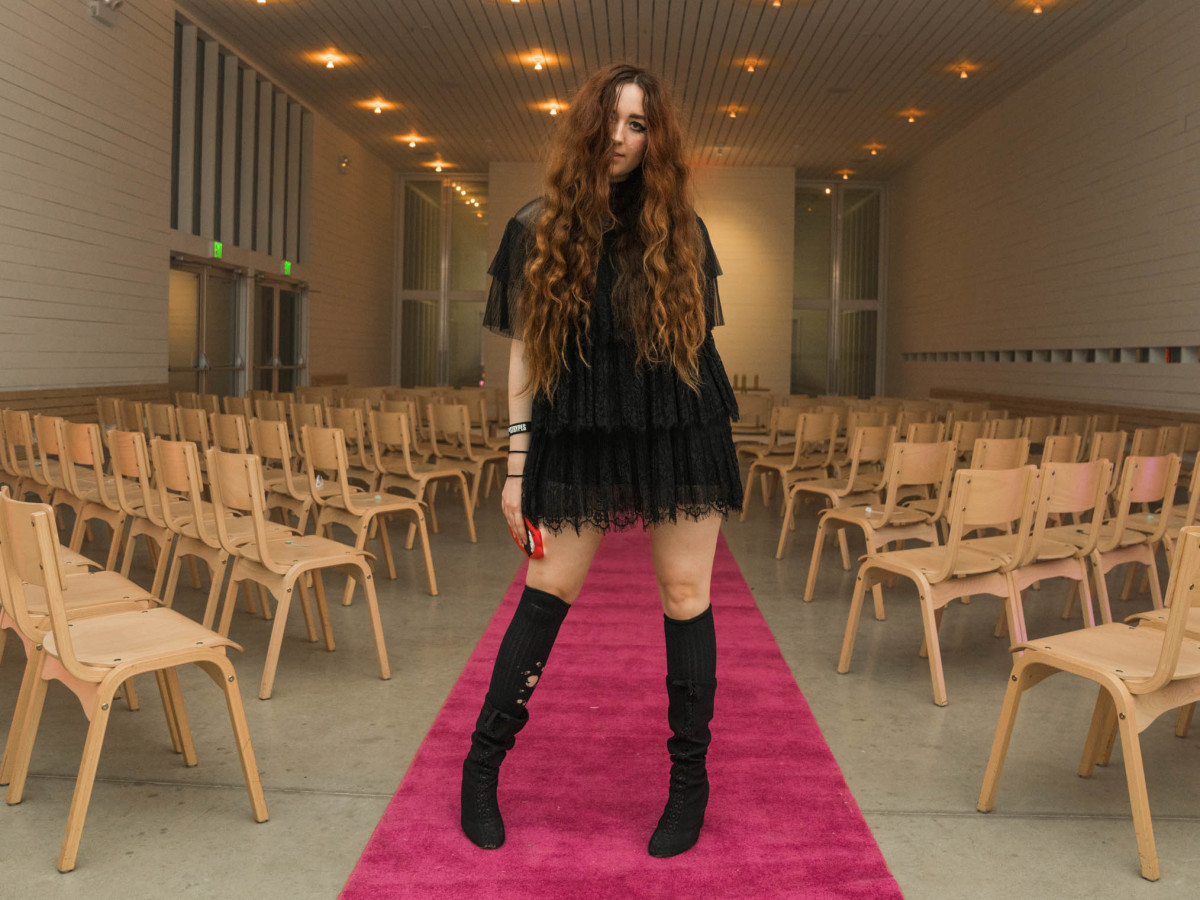 THIS IS SLOANE Collection 7 We're Throwing a Funeral Fashion Show Sloane Lenz