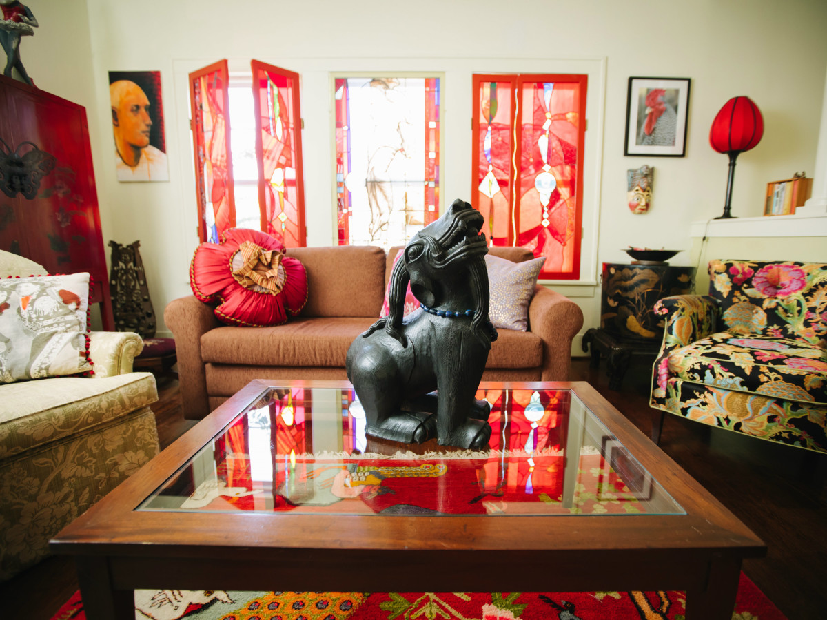Weird Home Tour Houston The House of Luminosity - Kim Clark Renteria