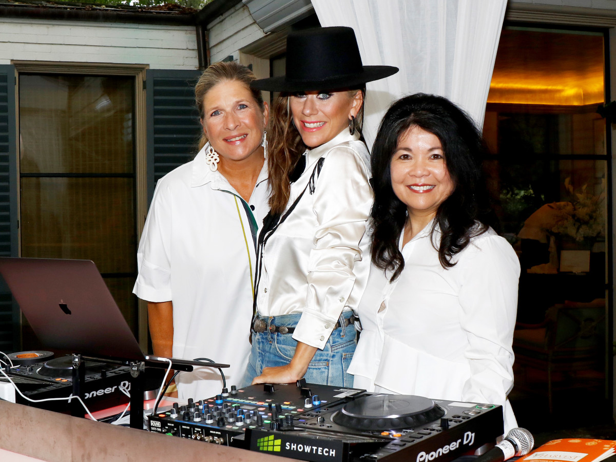 Kristi Bare, DJ Lucy Wrubel, Nancy Gopez