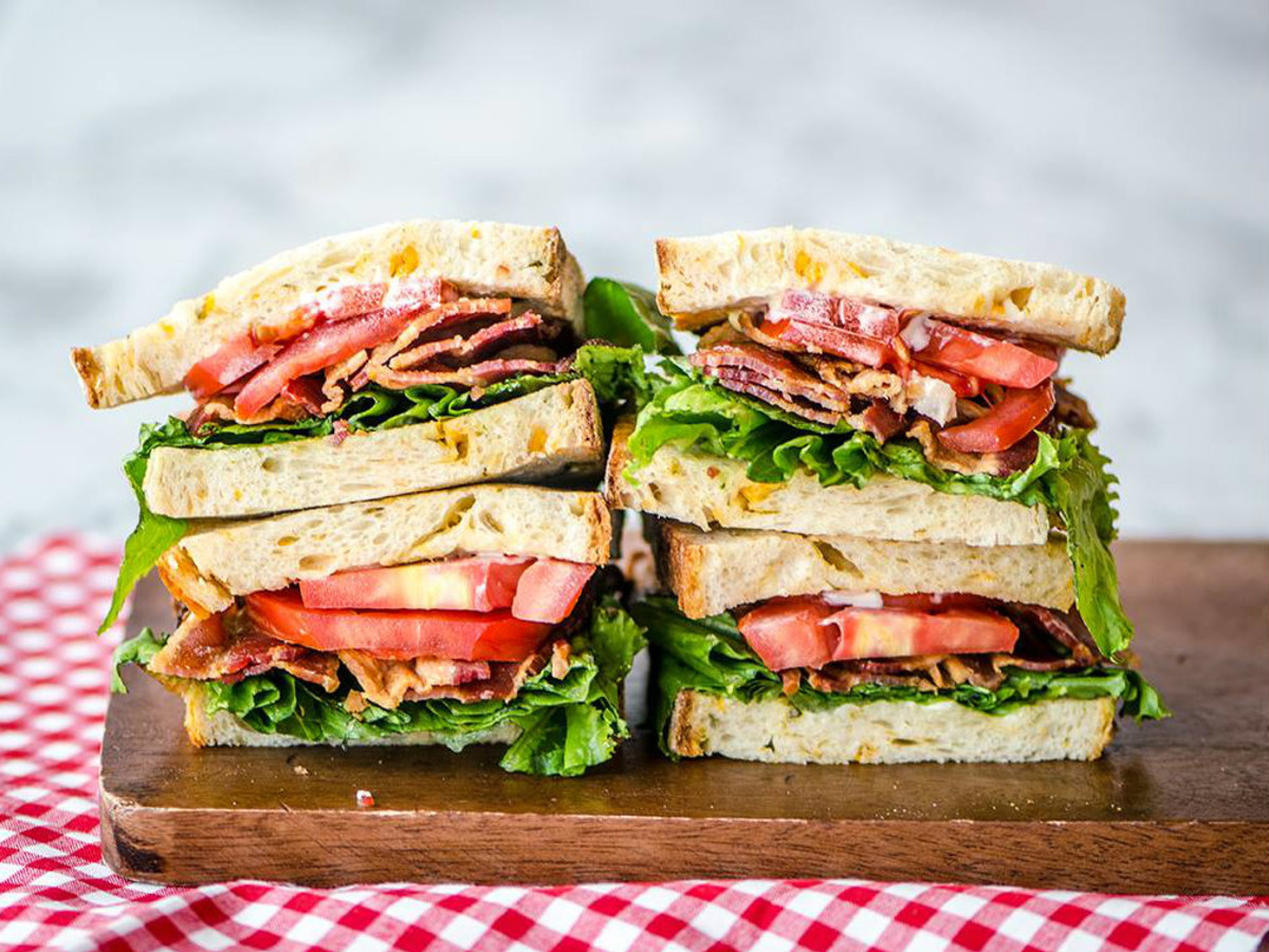 BLT sandwich Empire Baking Company