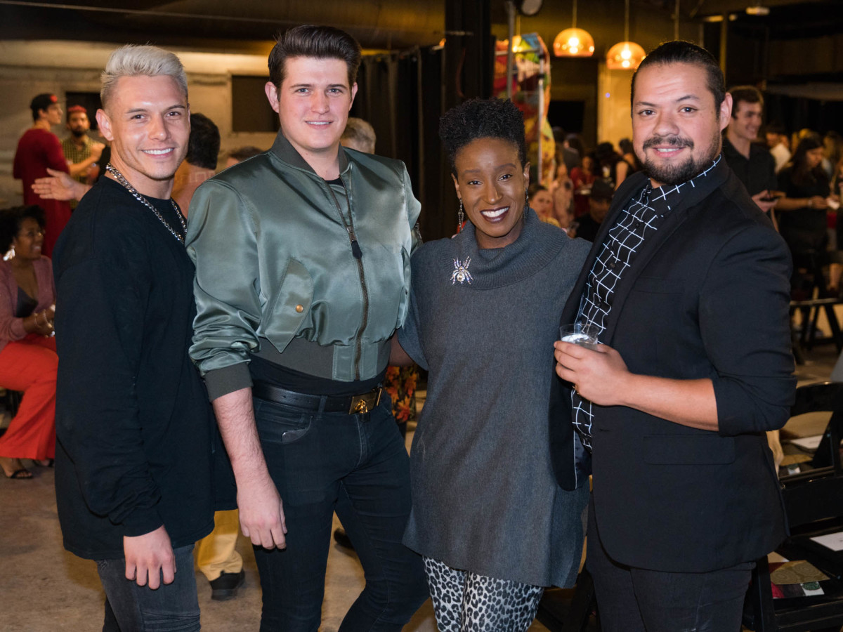 Fashion X Austin Moda X South Asia Sean Maddox Cody Kinsfather Michelle Washington Jake James