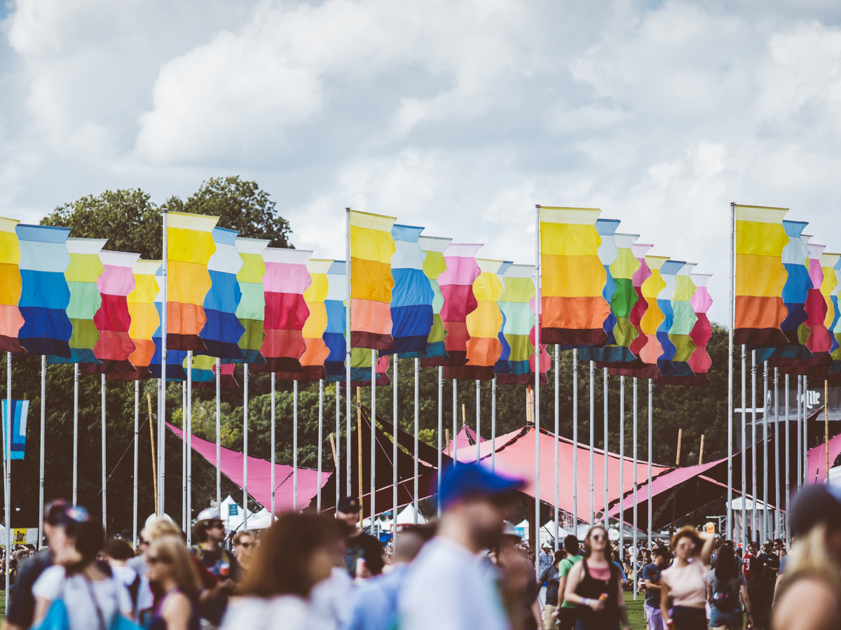 Austin City Limits 2018 Flags