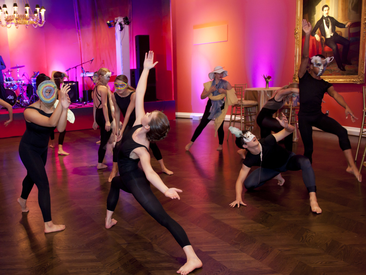 SMU dancers at Meadows Museum Masterpiece Gala 2018