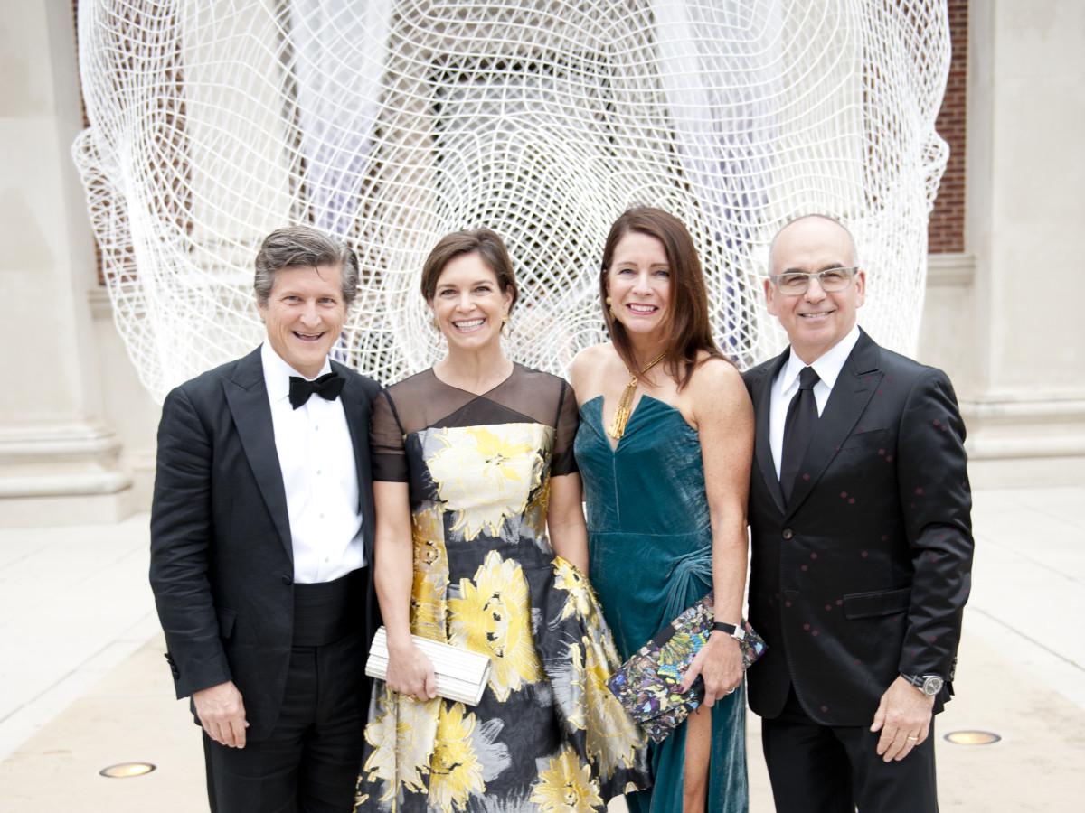 Andrew Sinwell, Abigail Sinwell, Kim Elting, Stewart Cohen