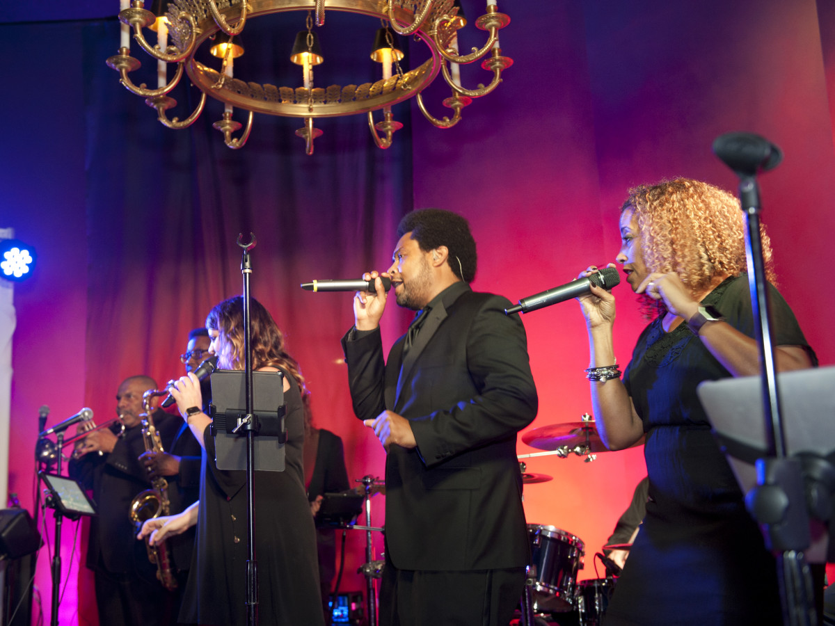 Cuvee performing at Meadows Museum Masterpiece Gala 2018