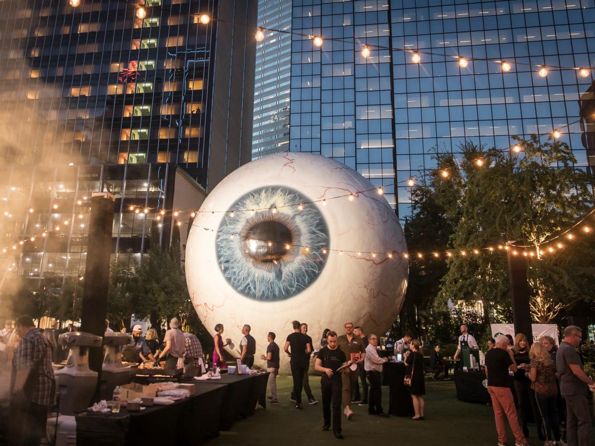 Burgers & Burgundy 2018, Eye at the Joule