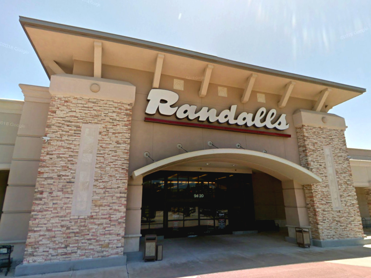 Randalls store exterior