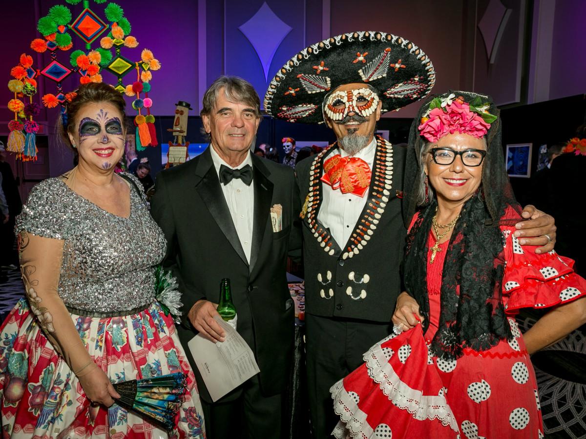 Amber Eagle, Clint Kuykendall, Guillermo Hernandez, Magdalena Kuykendall Orange Show Gala 2018