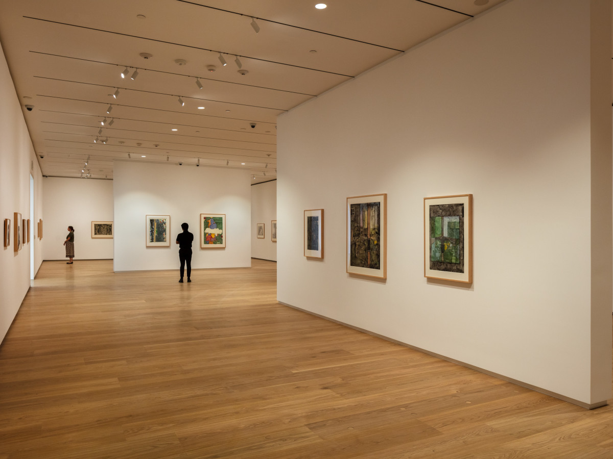 Menil Drawing Institute, exhibition space