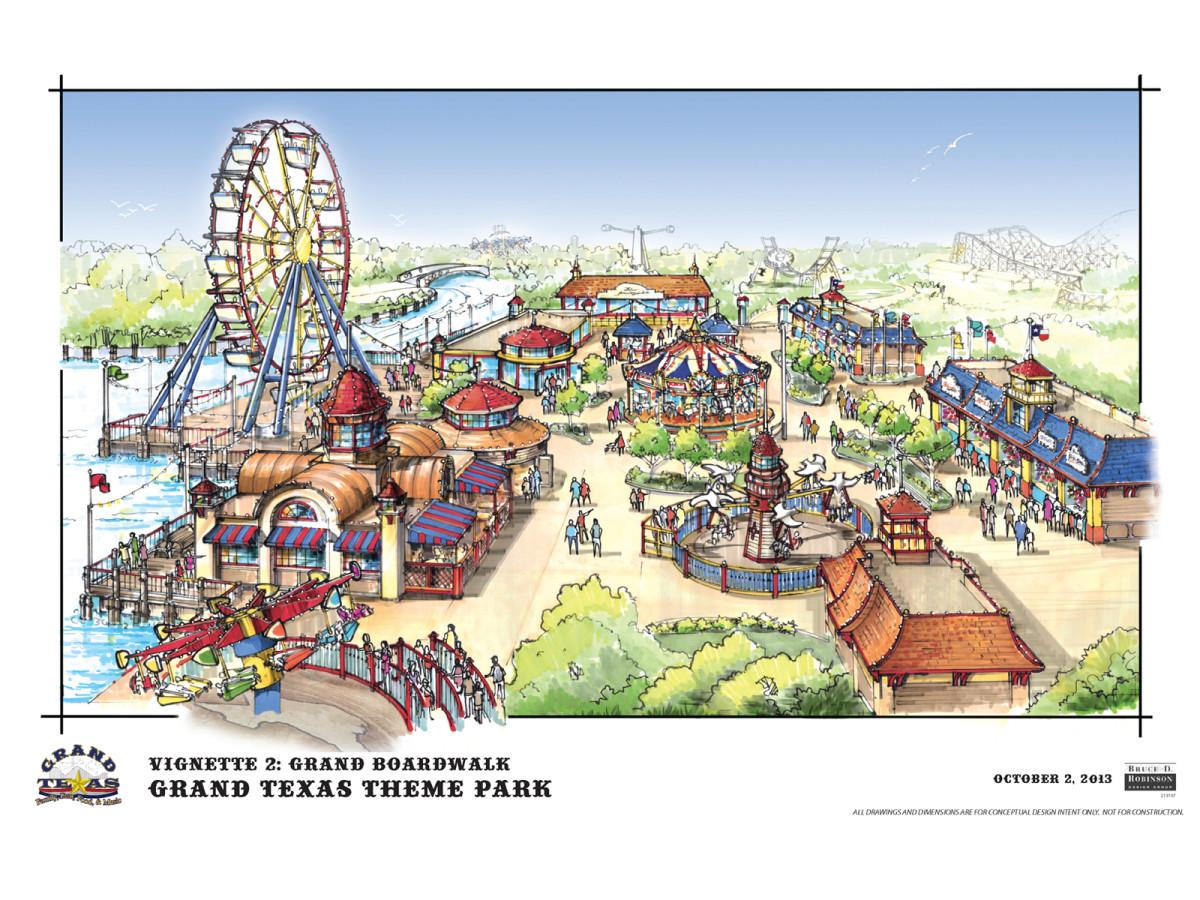 Grand Texas plans November 2013 Grand Boardwalk