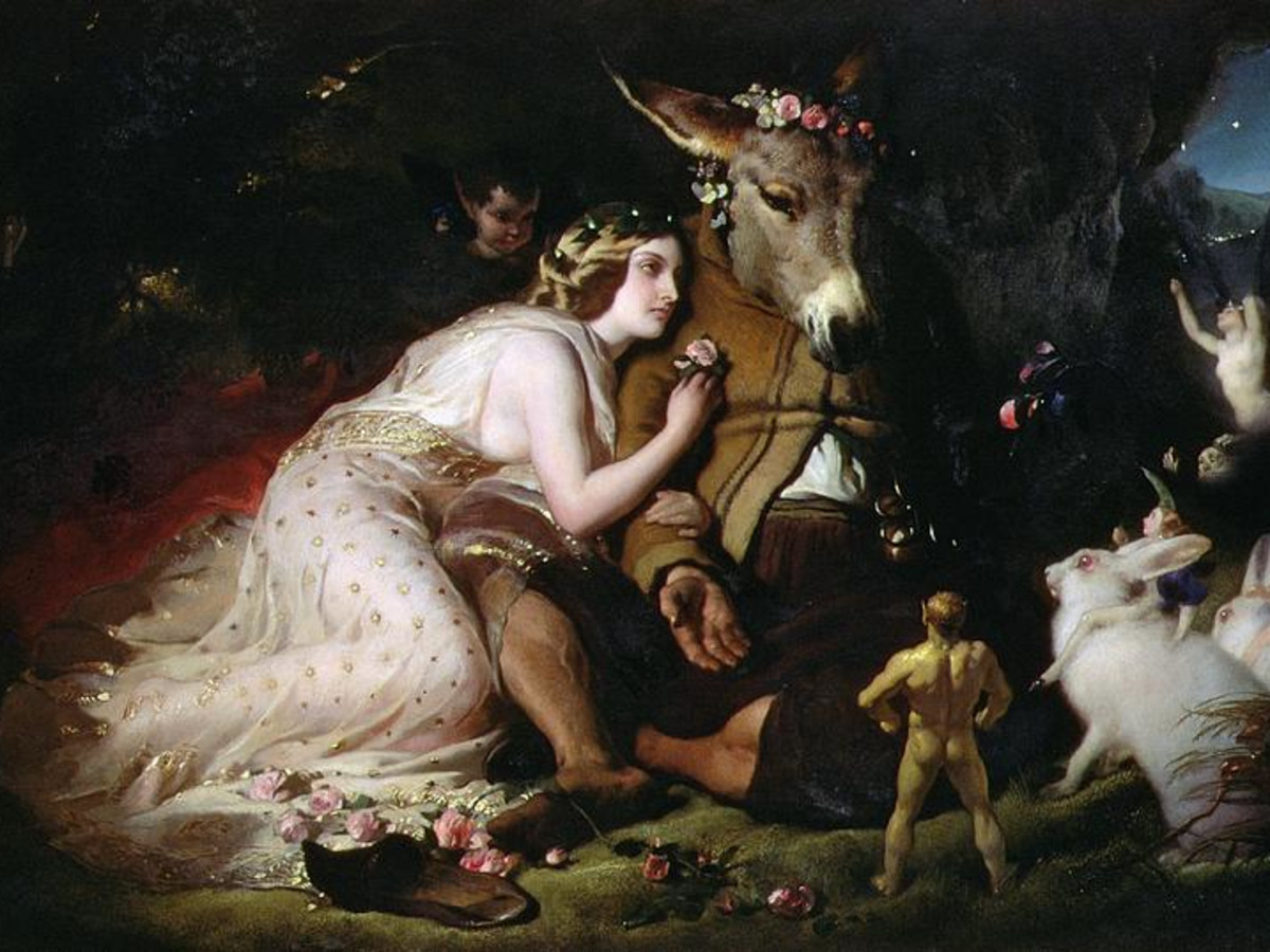 A Midsummer Night's Dream painting by Sir Edwin Landseer