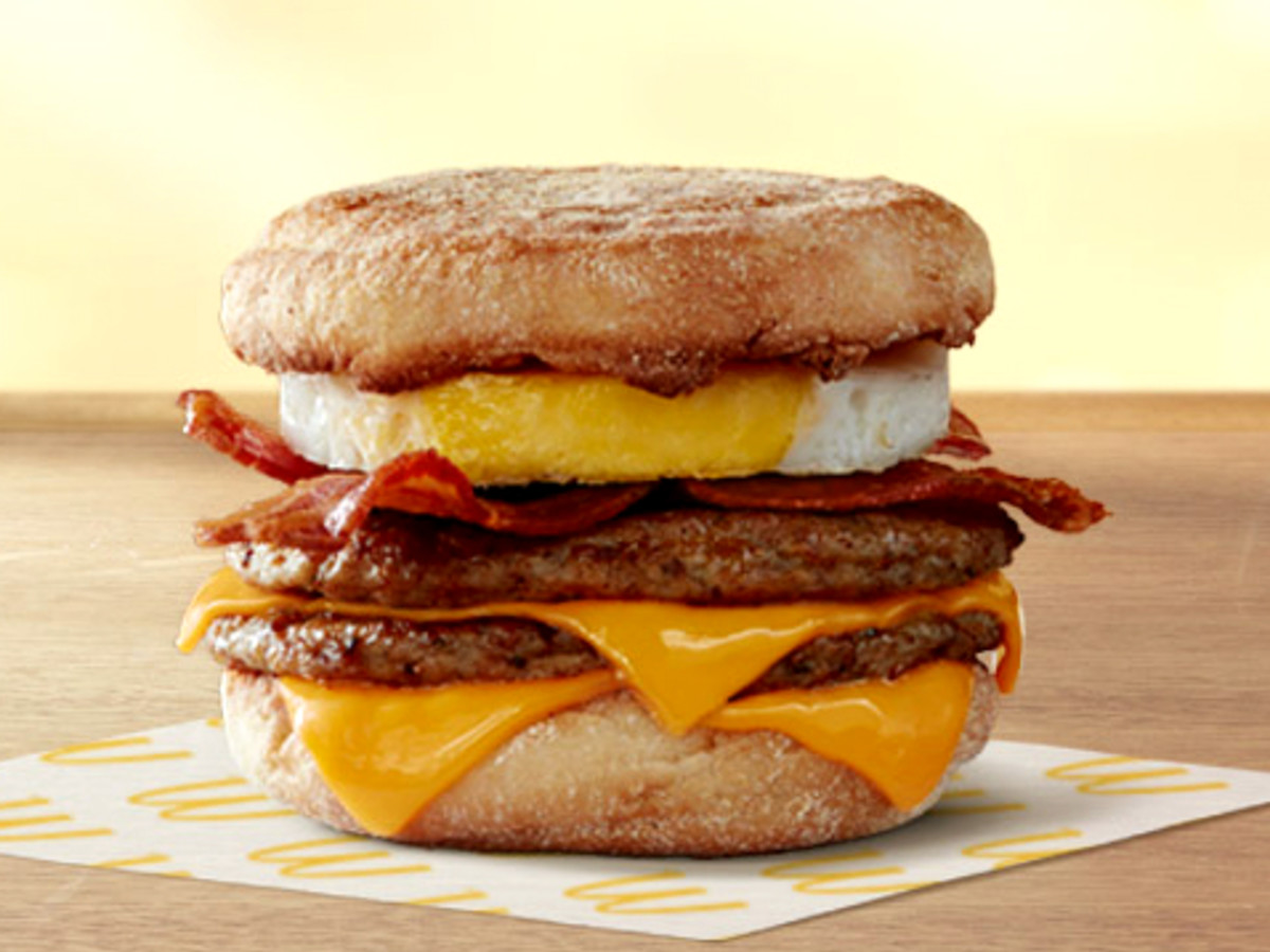 Drive-Thru Gourmet - McDonald's Triple Stack McMuffin