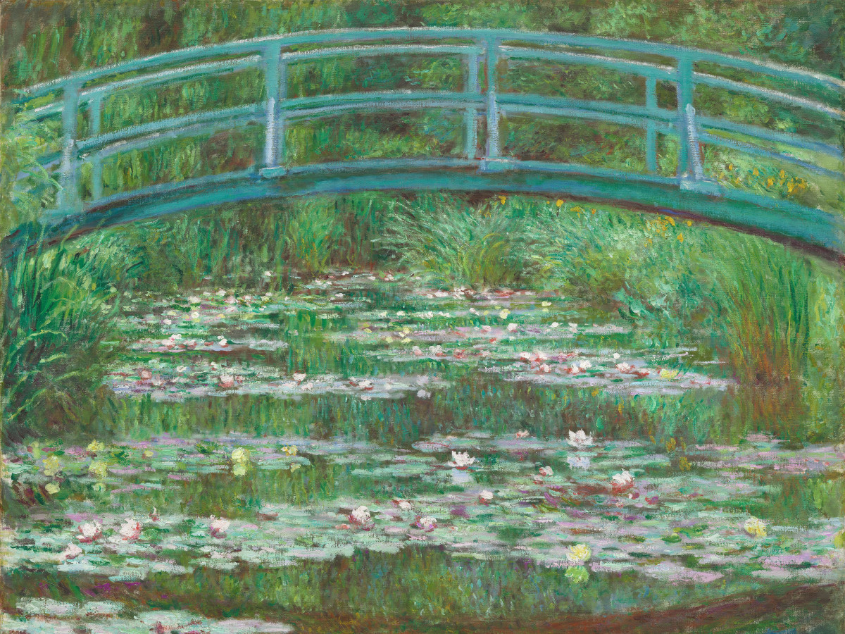Monet, Water Lily Pond