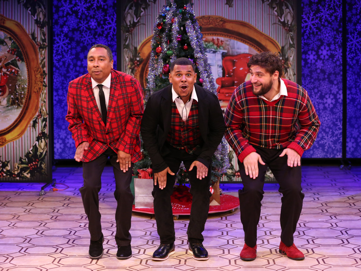 "Stages Theatre, The Ultimate Christmas Show (abridged): Ronnie Blaine, Joseph ""Joe P."" Palmer, Gabriel Regojo"